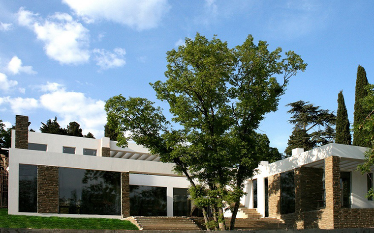Загородный дом. фасад из проекта , фото №8747