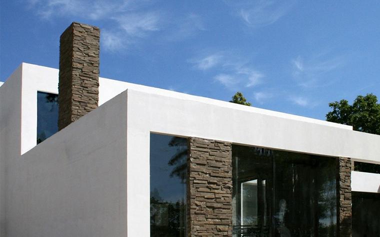 Загородный дом. фасад из проекта , фото №8748