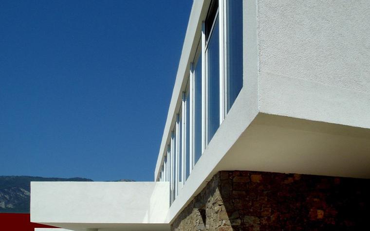 Загородный дом. фасад из проекта , фото №8752