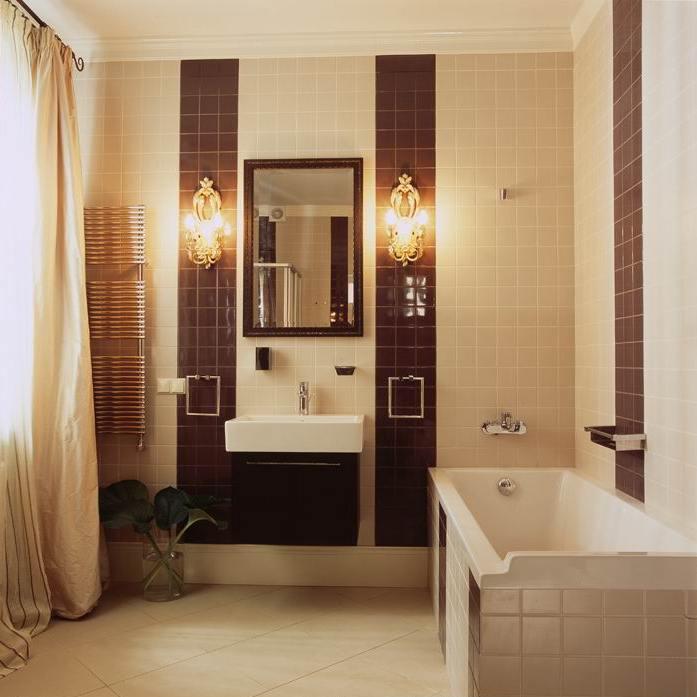 интерьер ванной - фото № 8786