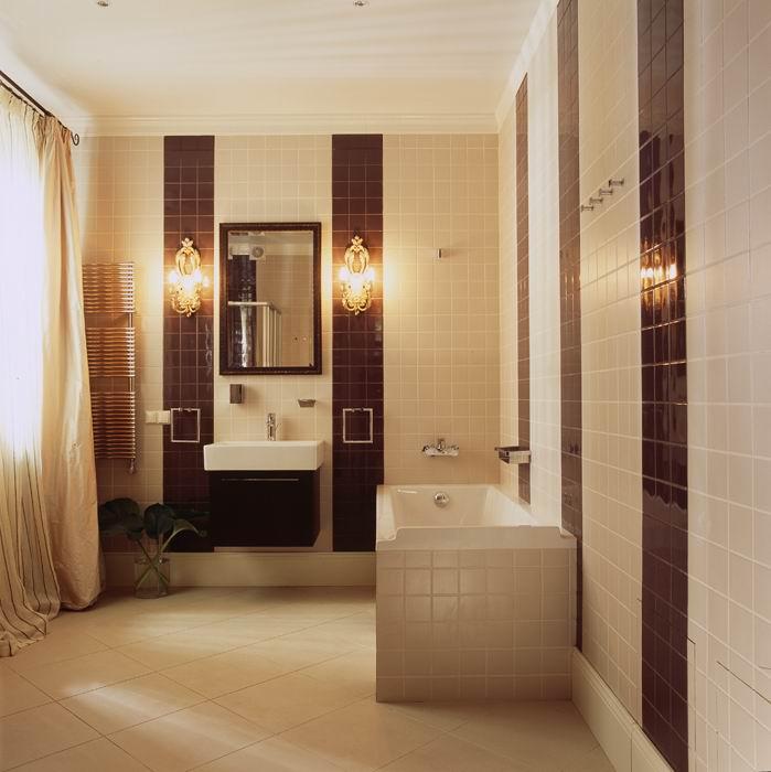 интерьер ванной - фото № 8787