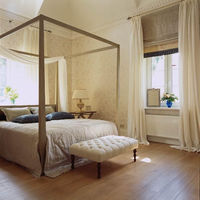 Фото № 8777 спальня  Загородный дом