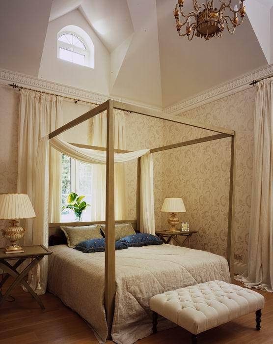 Фото № 8779 спальня  Загородный дом