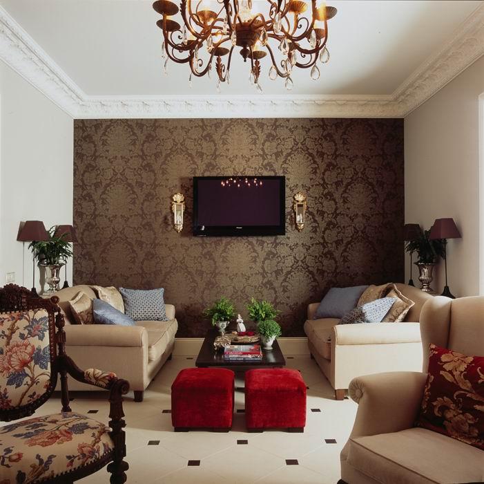 интерьер гостиной - фото № 8771