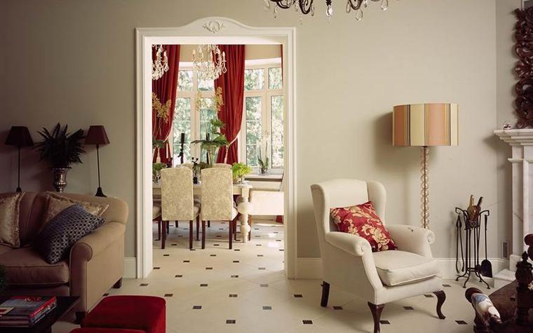 интерьер гостиной - фото № 8772