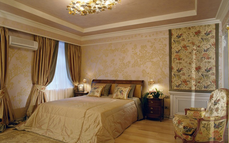 интерьер спальни - фото № 8917