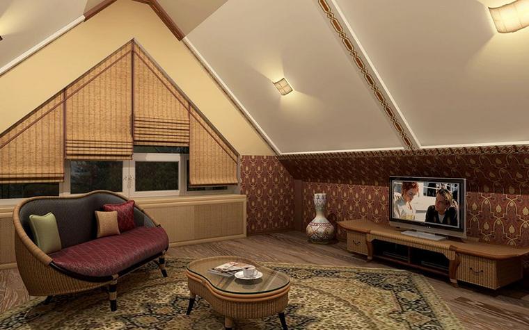 интерьер гостиной - фото № 8968