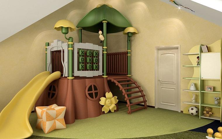 Фото № 8995 детская  Загородный дом