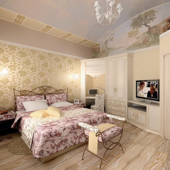 Фото № 9000 спальня  Загородный дом