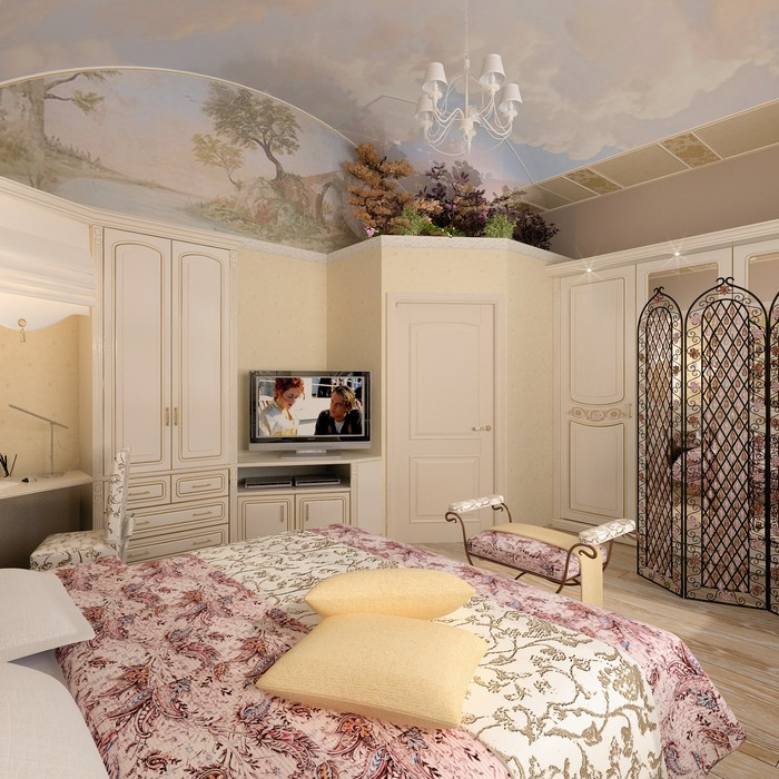 интерьер спальни - фото № 9002