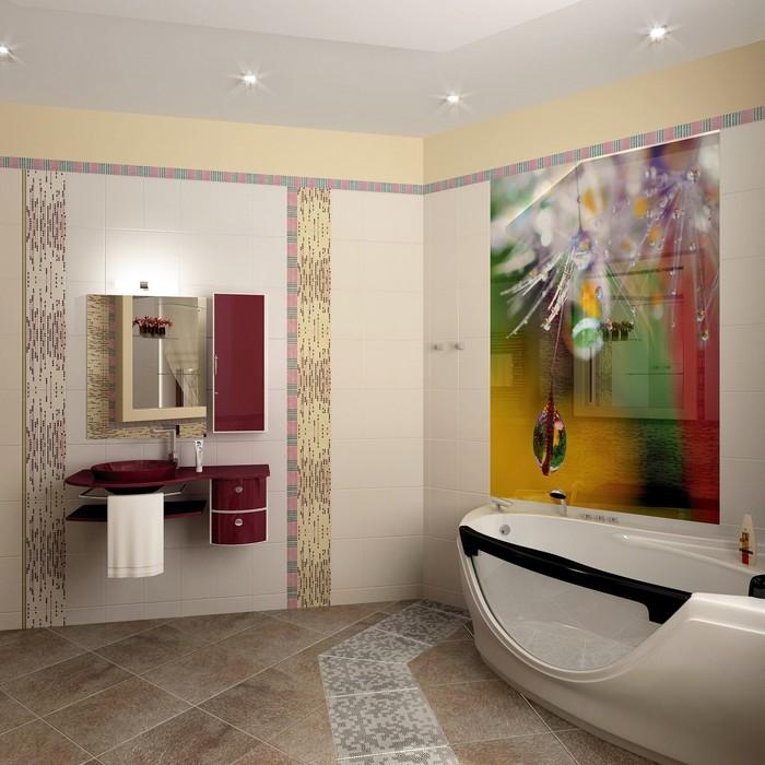 Загородный дом. ванная из проекта , фото №8980