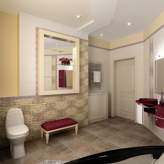 Загородный дом. ванная из проекта , фото №8981