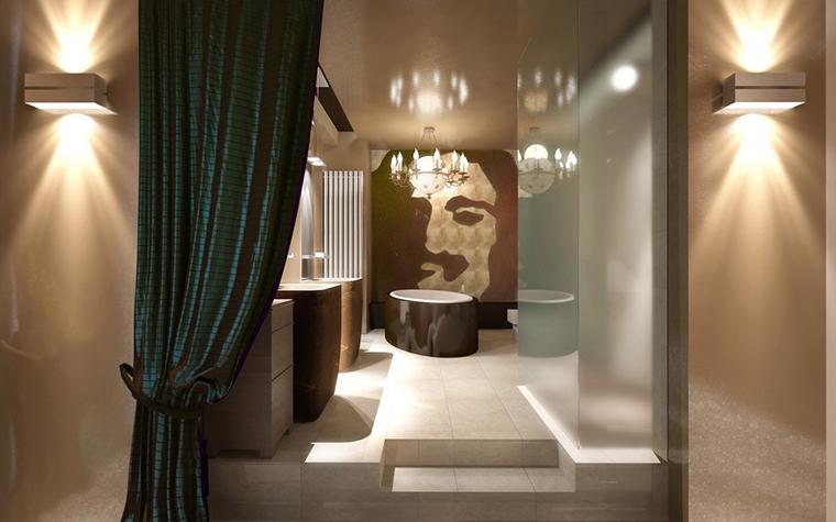 Фото № 9077 ванная  Загородный дом