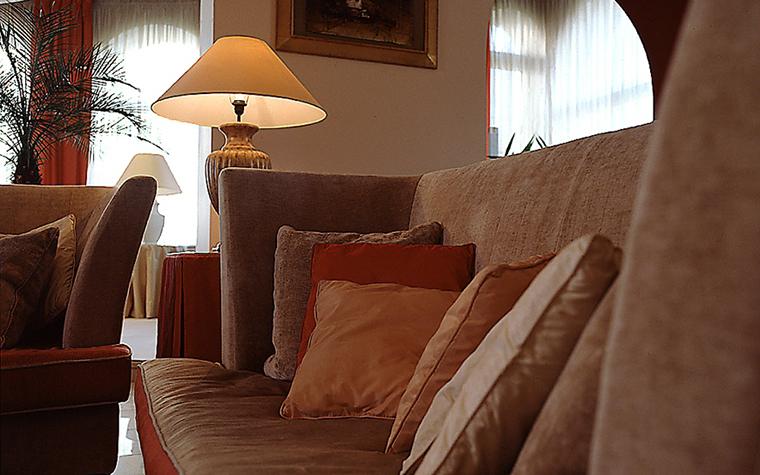 Фото № 9394 гостиная  Загородный дом