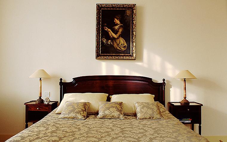 Фото № 9399 спальня  Загородный дом