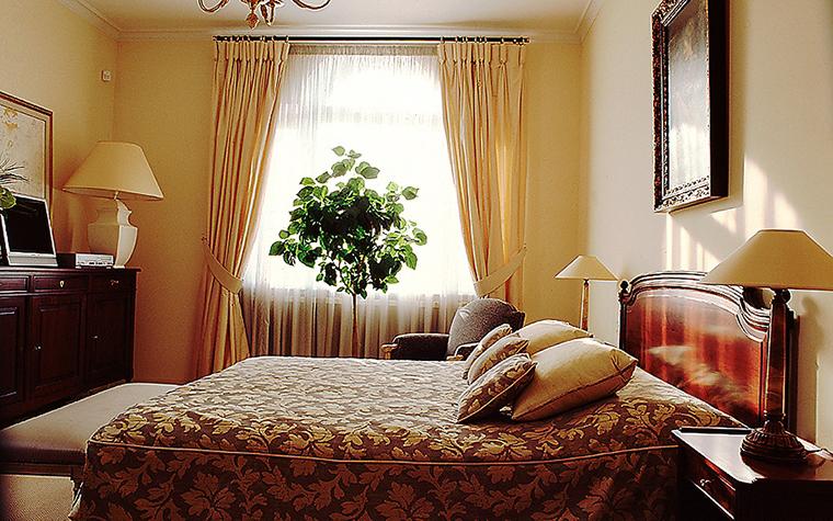 Фото № 9400 спальня  Загородный дом