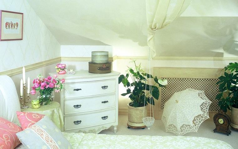 Загородный дом. спальня из проекта , фото №9746