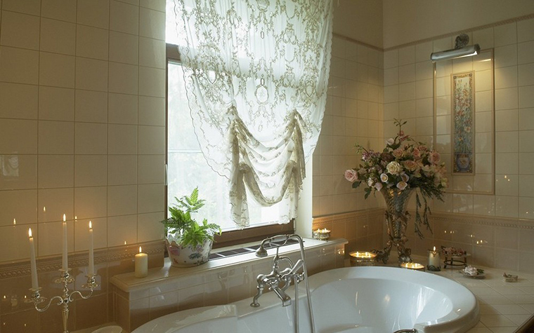 Фото № 9825 ванная  Загородный дом