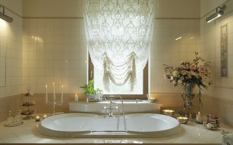 Фото № 9826 ванная  Загородный дом