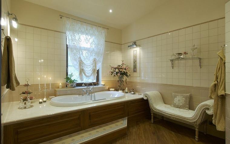 Фото № 9827 ванная  Загородный дом