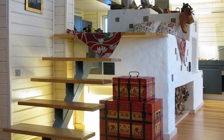 Фото № 9831 кухня  Загородный дом
