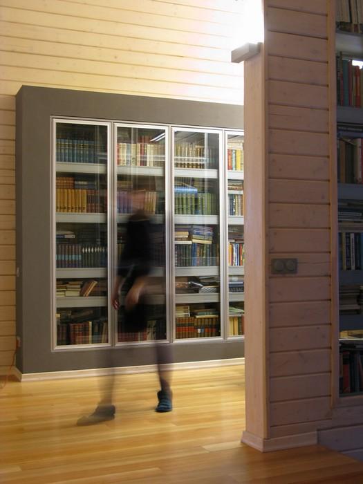 Фото № 9836 кабинет библиотека  Загородный дом