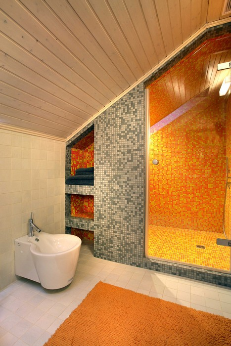 Фото № 9838 ванная  Загородный дом