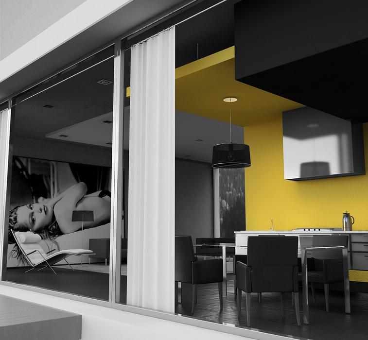 Загородный дом. кухня из проекта , фото №9894