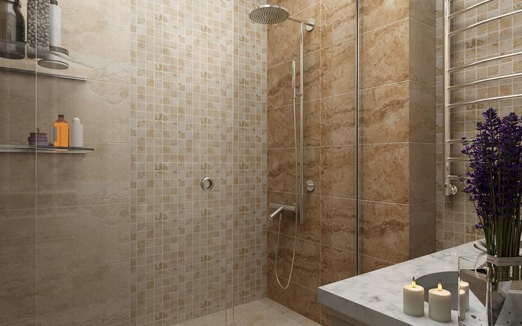 Загородный дом. ванная из проекта Четверка, фото №80237
