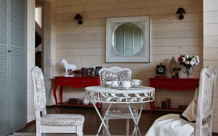 Загородный дом. гостиная из проекта Дом из бруса Нежность, фото №80803
