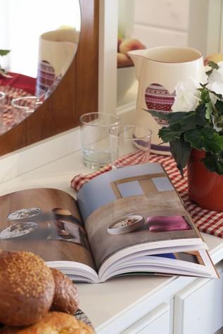 Загородный дом. столовая из проекта Дом из клееного бруса в стиле прованс, фото №80960