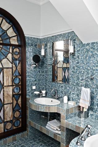 Загородный дом. ванная из проекта Дом для серьезного мужчины, фото №83042