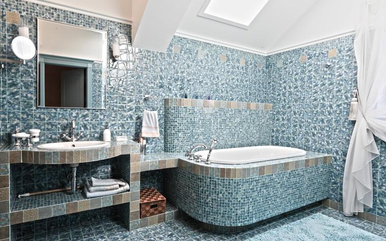 Загородный дом. ванная из проекта Дом для серьезного мужчины, фото №83043