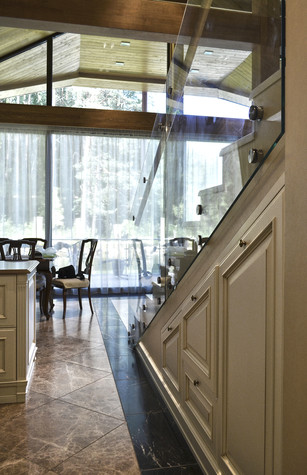 Загородный дом. гостиная из проекта Коттедж у леса, фото №83376