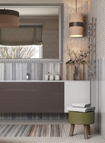 Загородный дом. ванная из проекта Интерьер ванной комнаты в загородном доме., фото №83415