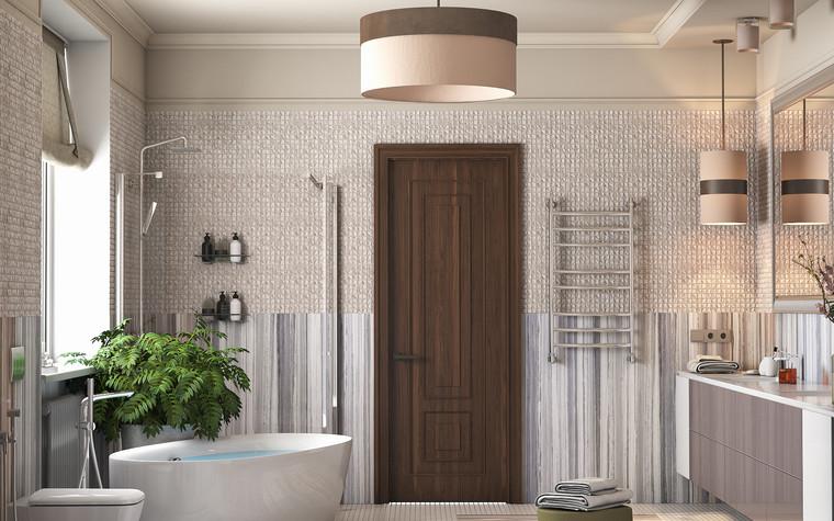 Загородный дом. ванная из проекта Интерьер ванной комнаты в загородном доме., фото №83417