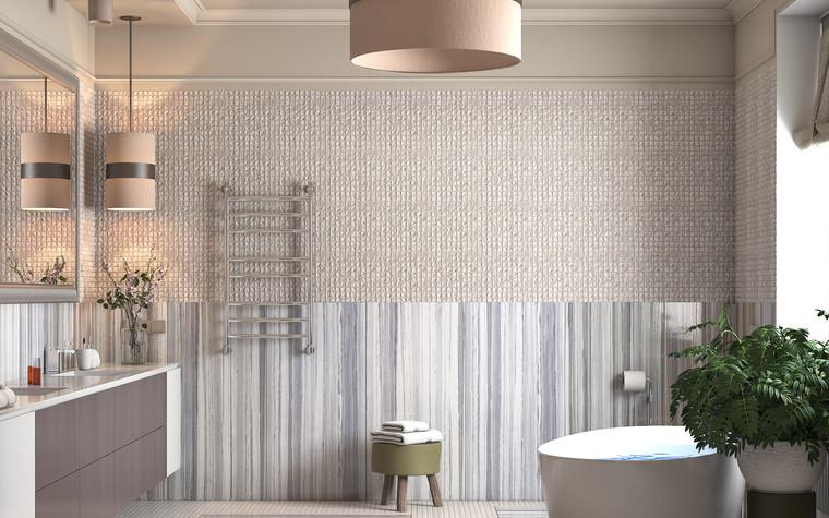 Загородный дом. ванная из проекта Интерьер ванной комнаты в загородном доме., фото №83418