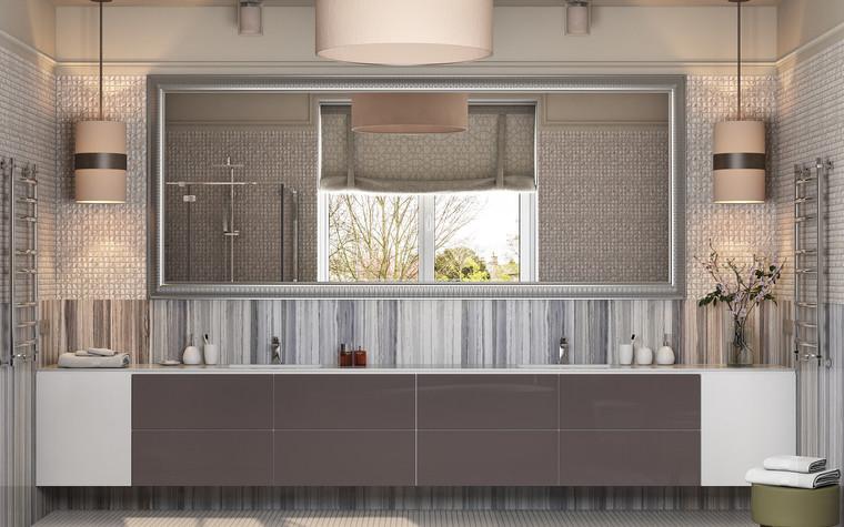 Загородный дом. ванная из проекта Интерьер ванной комнаты в загородном доме., фото №83420