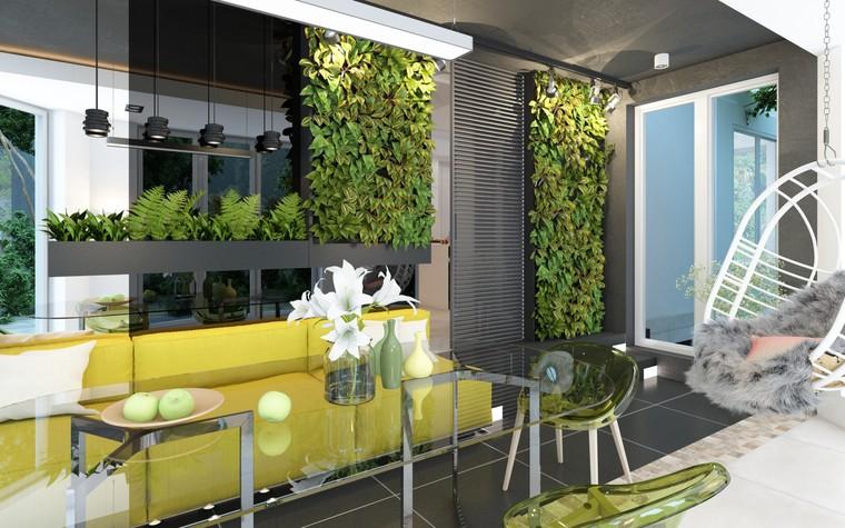 Загородный дом. терраса  из проекта Дизайн частного дома для супружеской пары, фото №89105