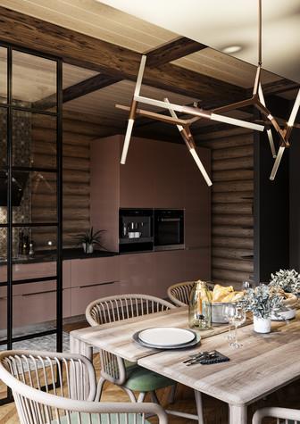 Загородный дом. кухня из проекта Уют и технологичность, фото №91908