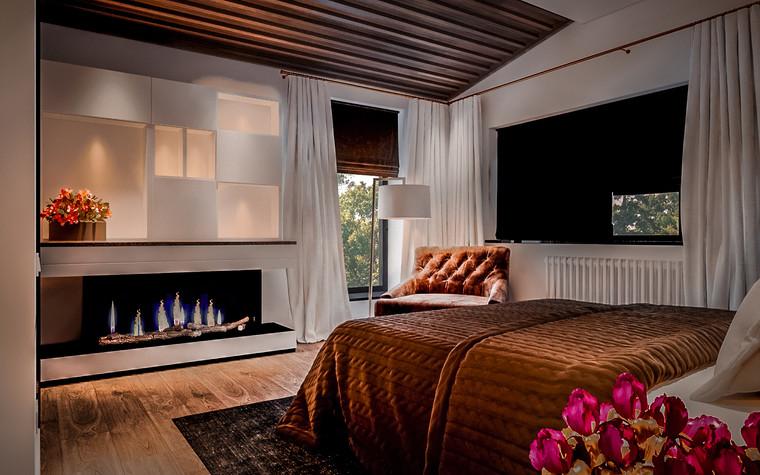 Загородный дом. спальня из проекта New Riga interior, фото №93218