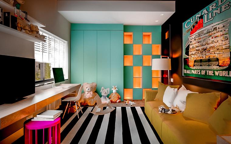 Загородный дом. детская из проекта New Riga interior, фото №93228