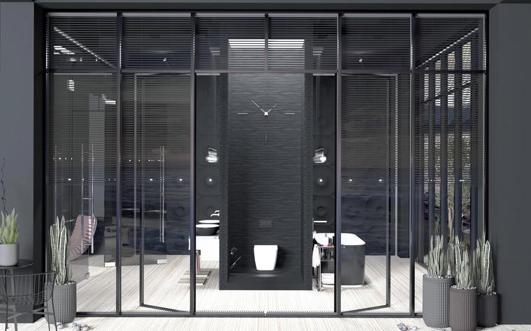 Загородный дом. ванная из проекта Black_Sunset, фото №94001