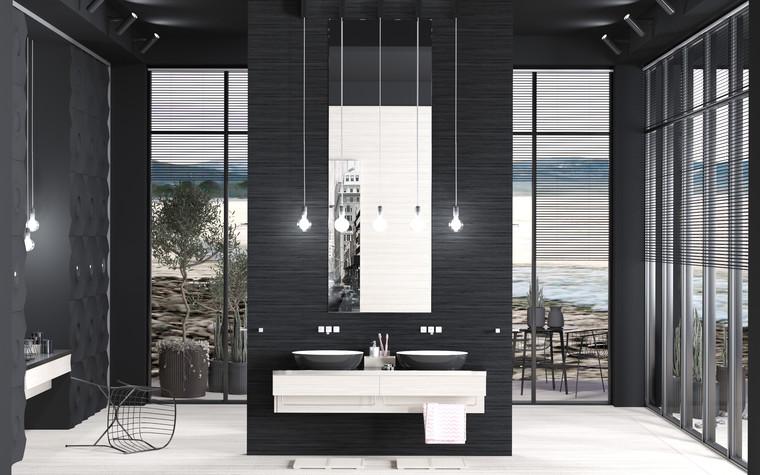 Загородный дом. ванная из проекта Black_Sunset, фото №94002