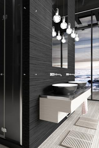 Загородный дом. ванная из проекта Black_Sunset, фото №94003