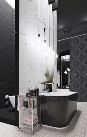 Загородный дом. ванная из проекта Black_Sunset, фото №94004