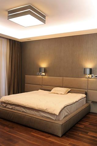 Загородный дом. спальня из проекта Таунхаус для холостяка, фото №98115