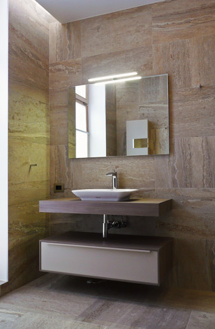 Загородный дом. ванная из проекта Таунхаус для холостяка, фото №98119