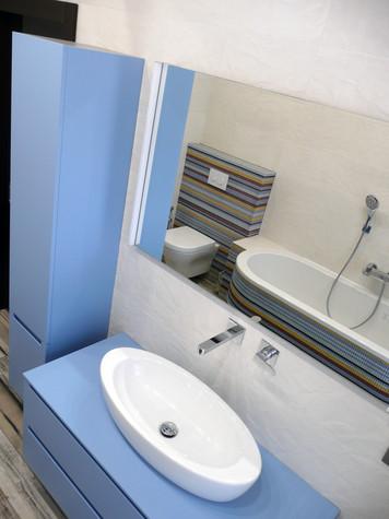 Загородный дом. ванная из проекта Таунхаус для холостяка, фото №98120