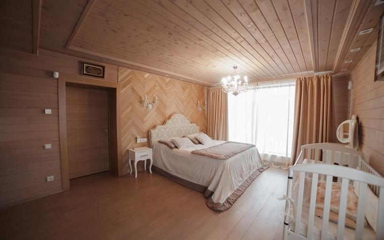Загородный дом. спальня из проекта Экодом Танковое кольцо, фото №102978